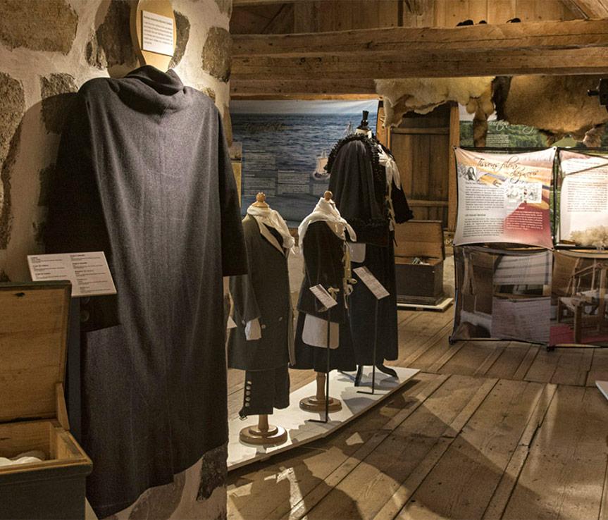 expositions au site historique de la maison Lamontagne